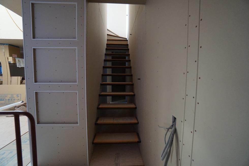 高級注文住宅,住宅設計,建築家,大阪,神戸,京都,設計事務所,ストリップ階段