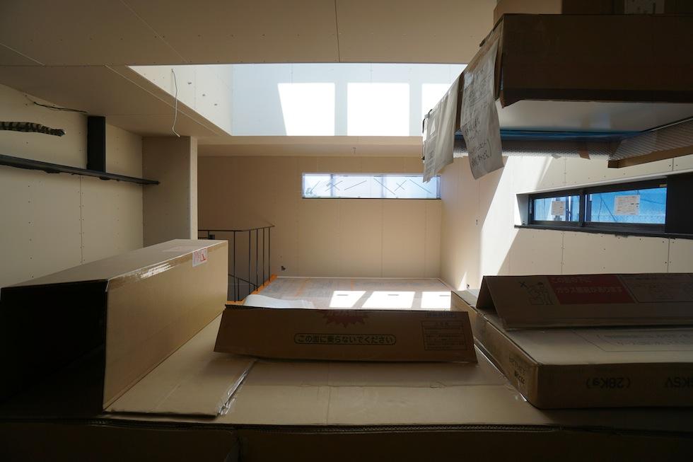 高級注文住宅,設計事務所,建築家,大阪,京都,神戸,木造3階建て,デザイン,リビング