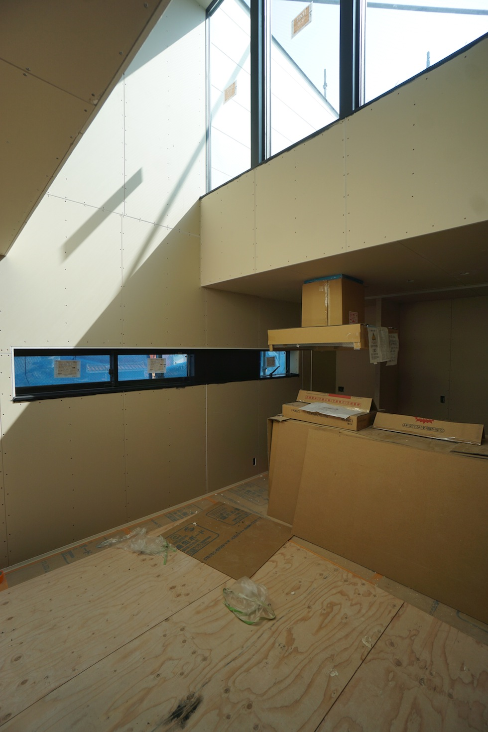 高級注文住宅,設計事務所,建築家,大阪,京都,神戸,木造3階建て,デザイン,吹き抜け
