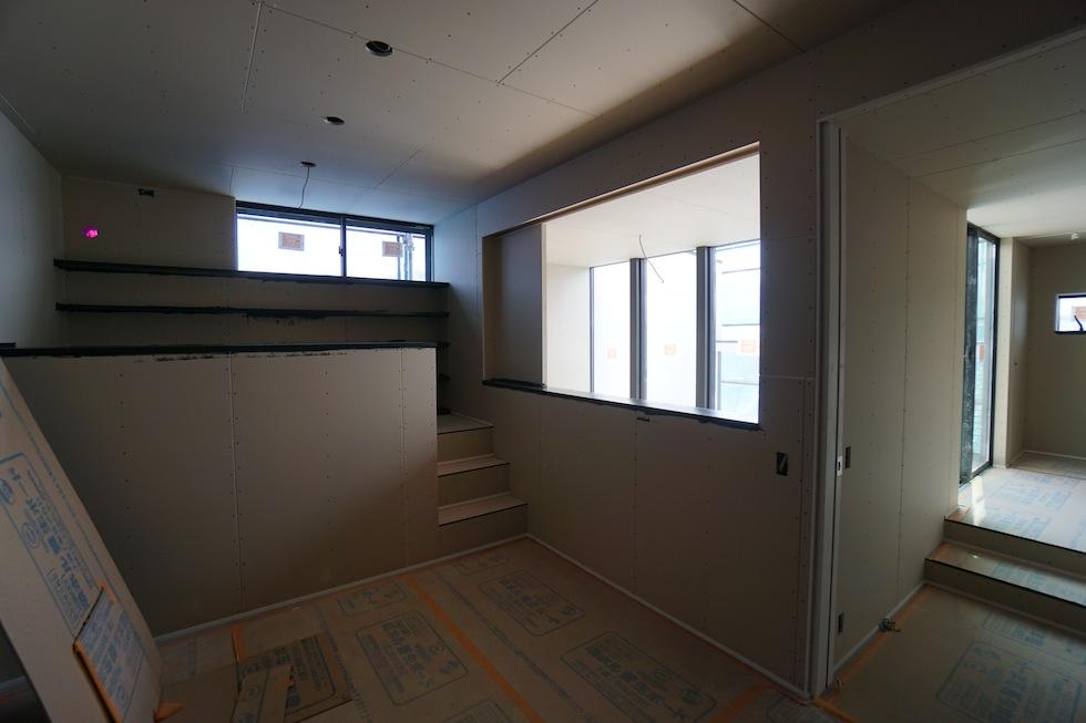 高級注文住宅,設計事務所,建築家,大阪,京都,神戸,木造3階建て,デザイン,寝室