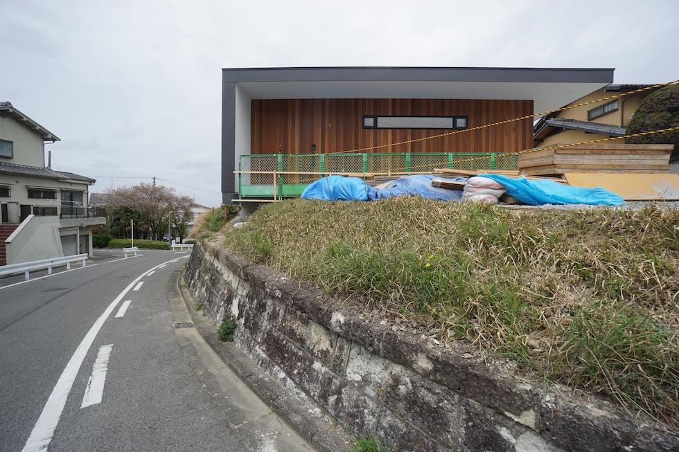リゾートプールハウス,住宅設計,建築家,高級注文住宅,大阪,神戸,京都,外観