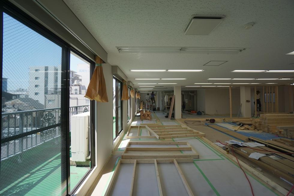 店舗設計,大阪,京都,神戸,建築家,設計事務所,デザイン,フィットネススタジオ,インテリア