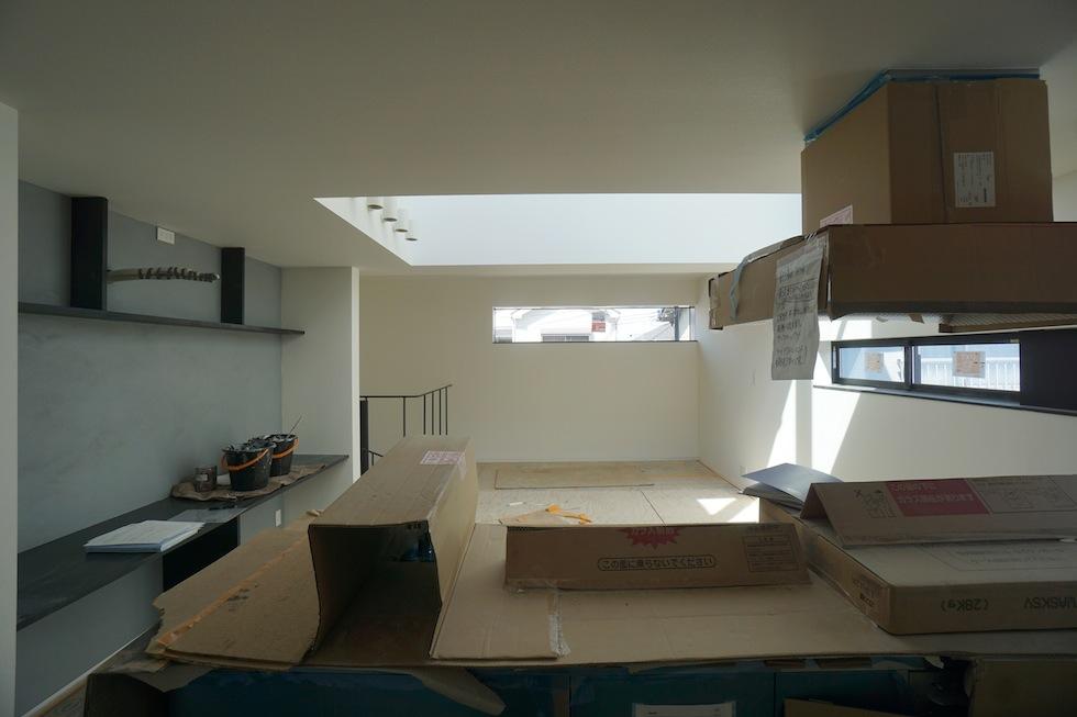 高級注文住宅,設計事務所,建築家,大阪,京都,神戸,3階建てデザイン,リビング