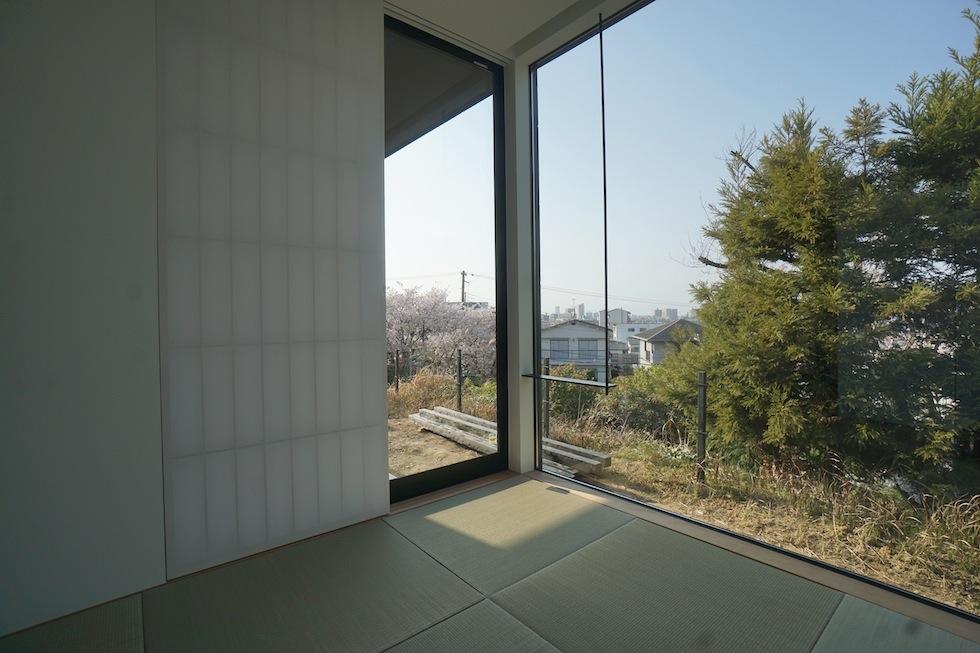 高級注文住宅設計,大阪,神戸,京都,プールハウス,建築家,設計事務所,豪邸,モダンリビング,コートハウス,中庭,和室デザイン
