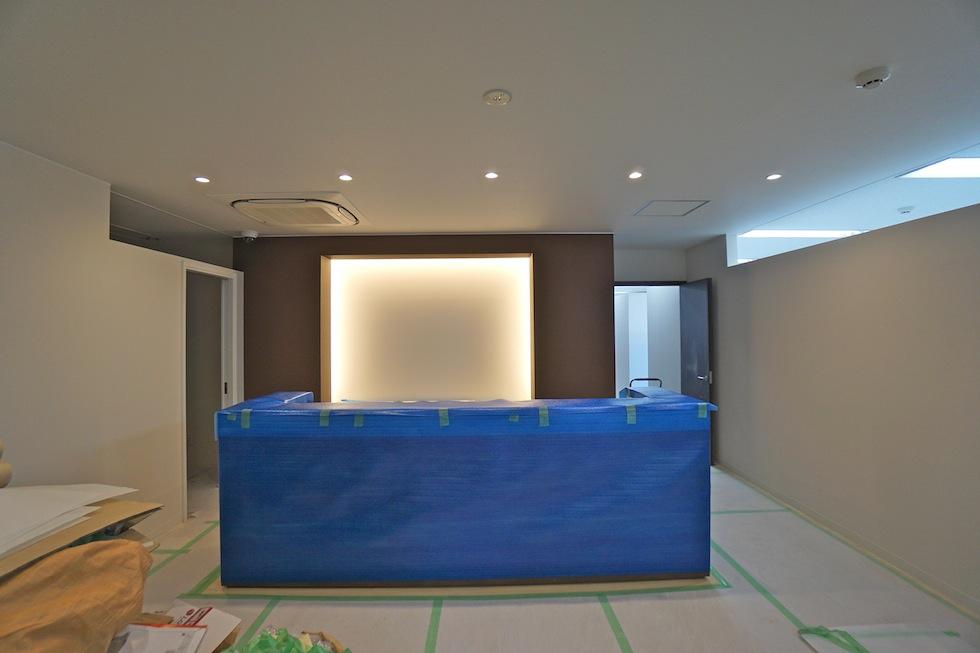 インテリアデザイン,フィットネススタジオ,建築家,店舗デザイン,間接照明