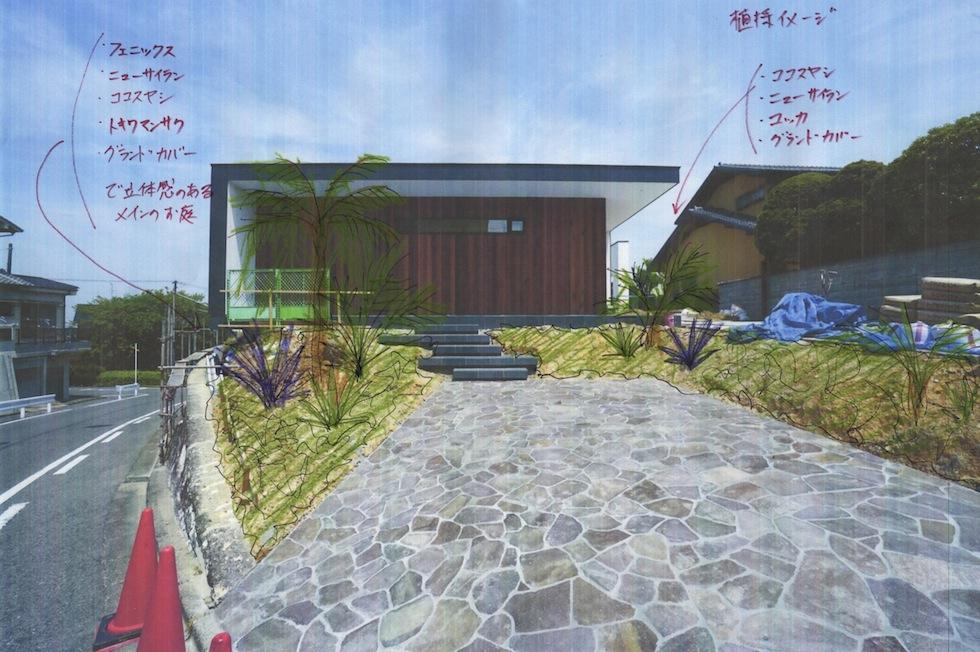 プールハウス,大阪,京都,神戸,建築家,設計事務所,高級注文住宅,プールサイドテラス,植栽計画,造園デザイン
