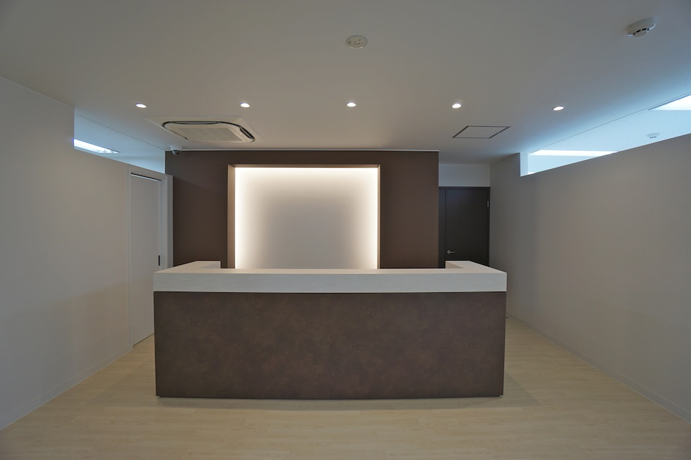 店舗設計,エントランス,フィットネスクラブ,スタジオ設計.建築家,設計事務所,大阪