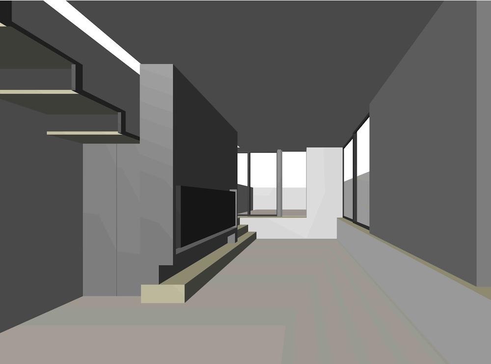 建築家,デザイン,店舗付き住宅,美容室,設計事務所,高級注文住宅,大阪,京都,神戸,インテリアパース