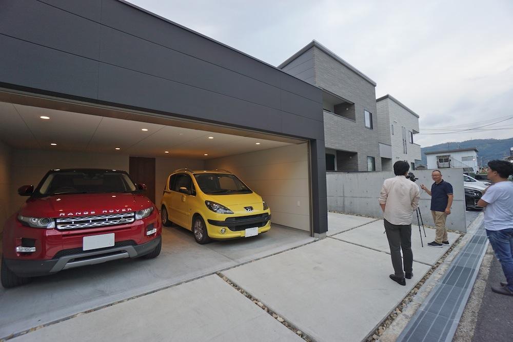 ガレージハウス,大阪,京都,神戸,建築家,設計事務所,高級注文住宅設計,取材