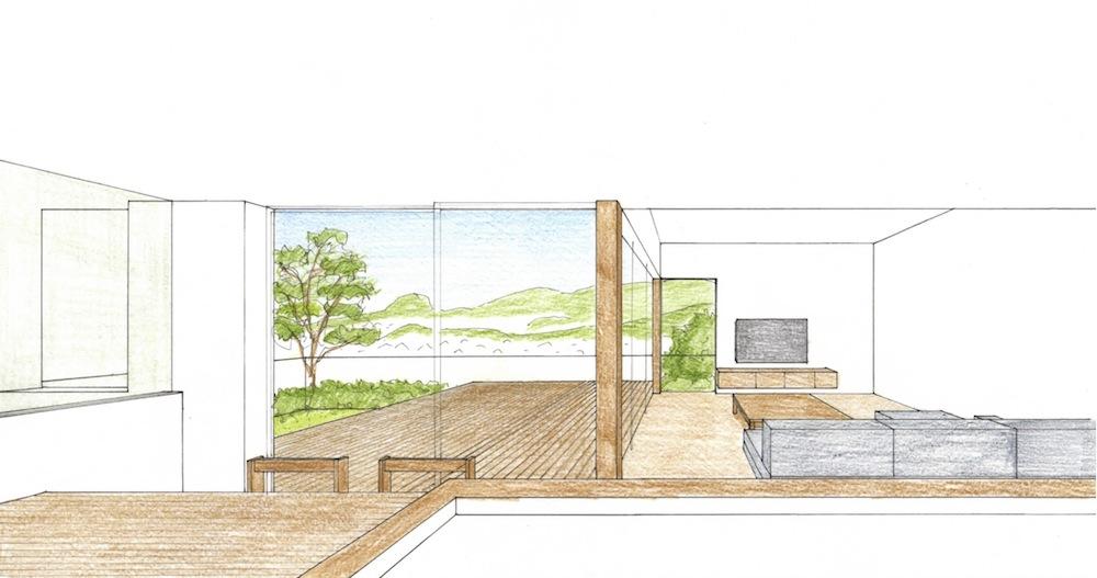 眺望の家,兵庫県宝塚市,建築家,高級注文住宅