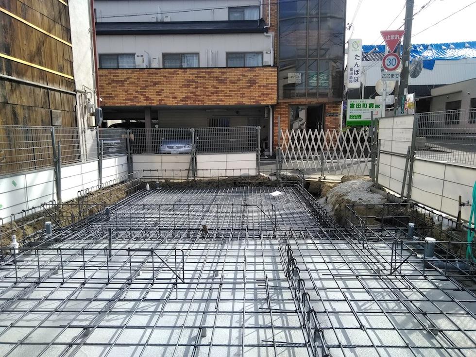 配筋検査,建築家,大阪,京都,神戸,滋賀,高級注文住宅設計,木造デザイン,3階建て