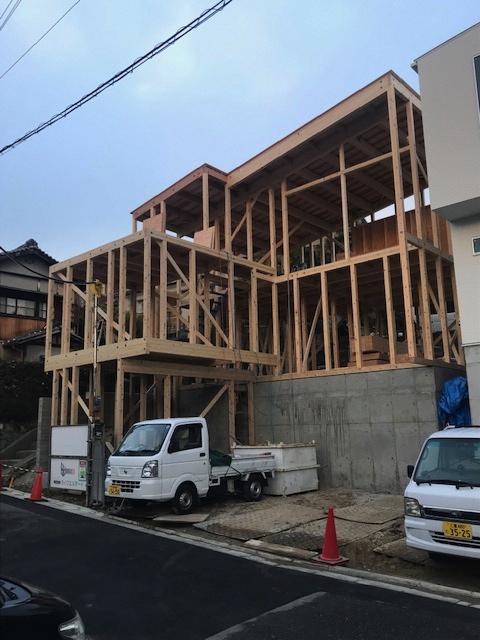 建築家,大阪,神戸,京都,吹田,高級注文住宅設計,スキップフロア,外観デザイン