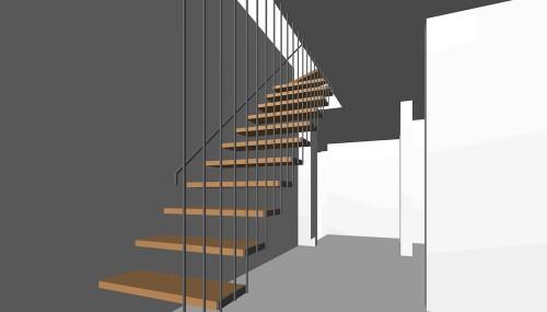 階段デザイン,高級注文住宅設計,建築家,大阪,京都,神戸,スカイテラス,眺望の家