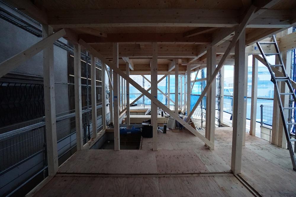 3階建てデザイン,ヘアサロン併用住宅,店舗付き住宅,建築家,大阪,神戸,京都,高級住宅設計,ヘアサロン