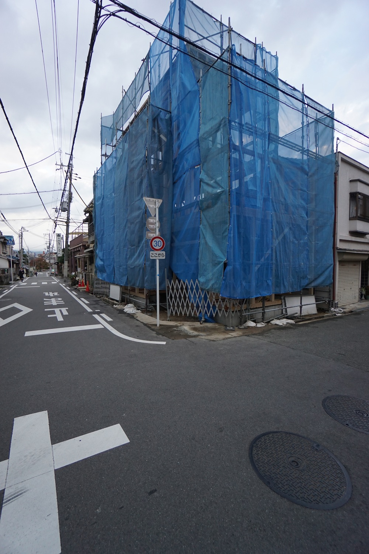 3階建てデザイン,ヘアサロン併用住宅,店舗付き住宅,建築家,大阪,神戸,京都,高級住宅設計