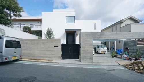 北摂,建築家,高級注文住宅,設計事務所,大阪,神戸,コンクリート打ち放し 2