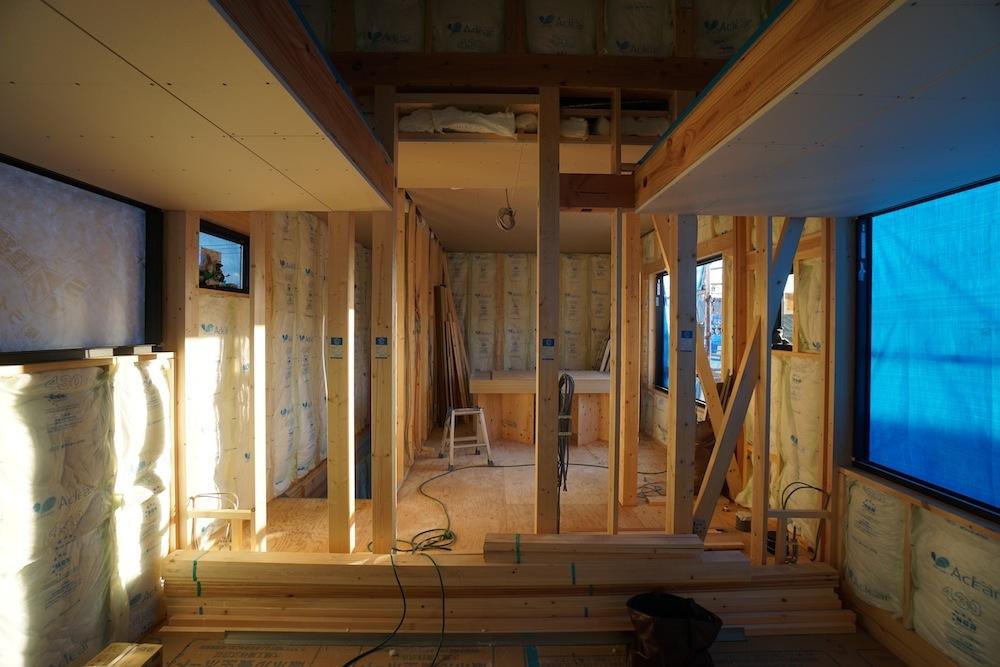 店舗付き住宅,建築家,美容室,へアサロン,高級注文住宅,テラス,木造3階建て住宅デザイン,ロフト,狭小住宅デザイン