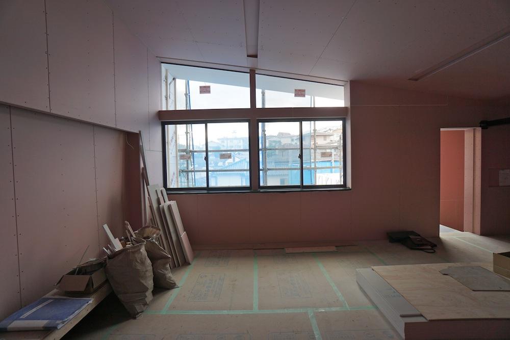 大阪,神戸,京都,設計事務所,建築家,高級注文住宅設計,スキップフロア,階段デザイン,吹田,おおきな窓