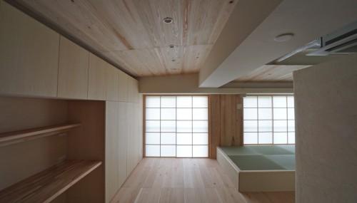 木のマンションリノベーション,高級注文住宅設計,大阪市,建築家