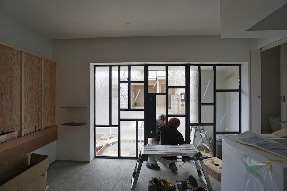 ガラスデザイン,3階建てデザイン,建築家,大阪,神戸,京都,高槻,高級注文住宅設計