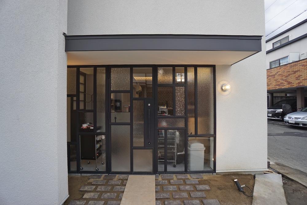 ファサード,ヘアサロン,建築家,大阪,高槻,高級注文住宅設計