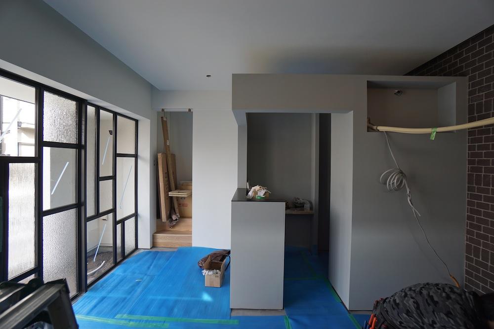 ヘアサロン併用住宅,,建築家,大阪,高槻,高級注文住宅設計,美容室,理美容室,インテリア