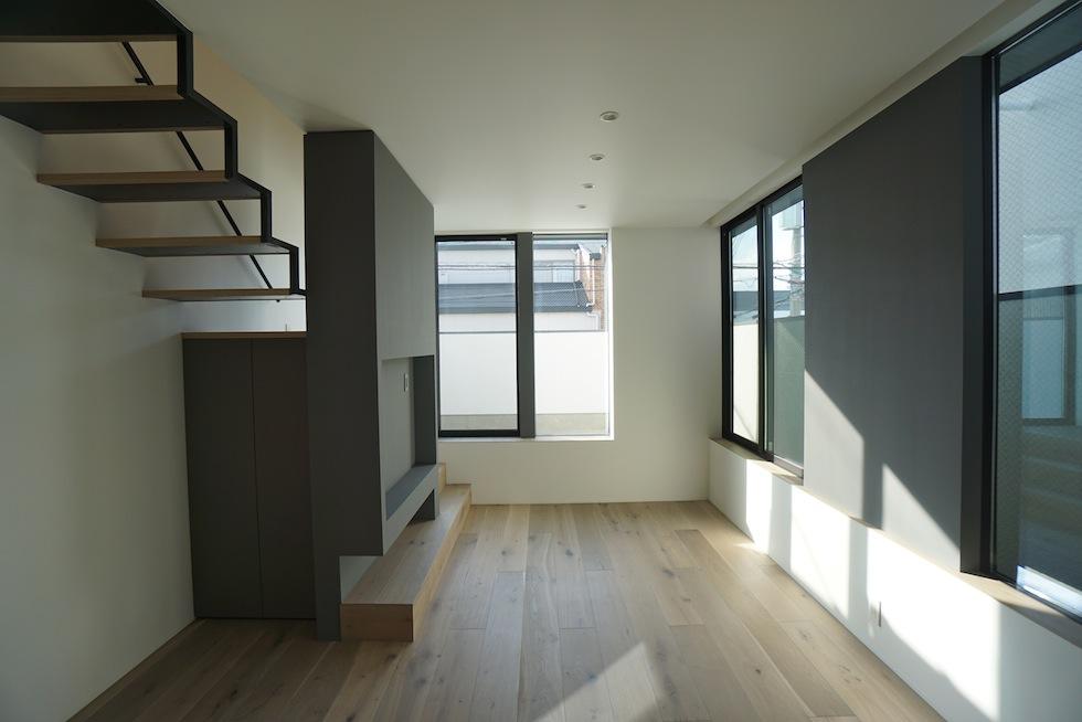 リビングデザイン,3階建てデザイン,建築家,大阪,神戸,京都,高槻,高級注文住宅設計