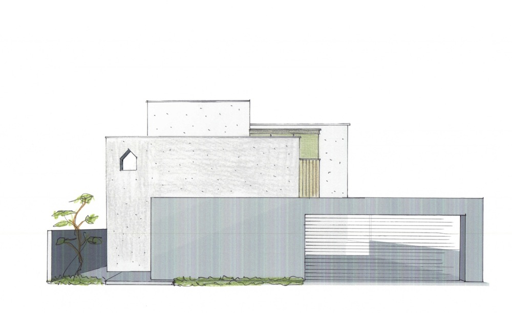 外観ファサード,デザイン,高級注文住宅設計,建築家,大阪,京都,神戸,設計事務所,雑誌