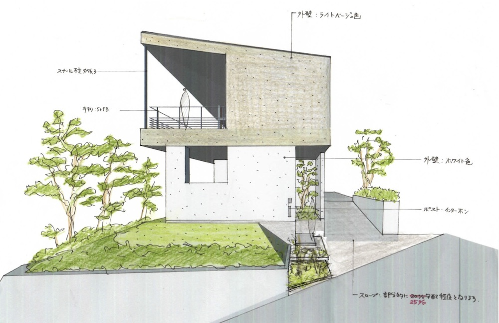 雲雀丘花屋敷,建築家,大阪,宝塚,神戸,京阪神,眺望の家,高級注文住宅設計