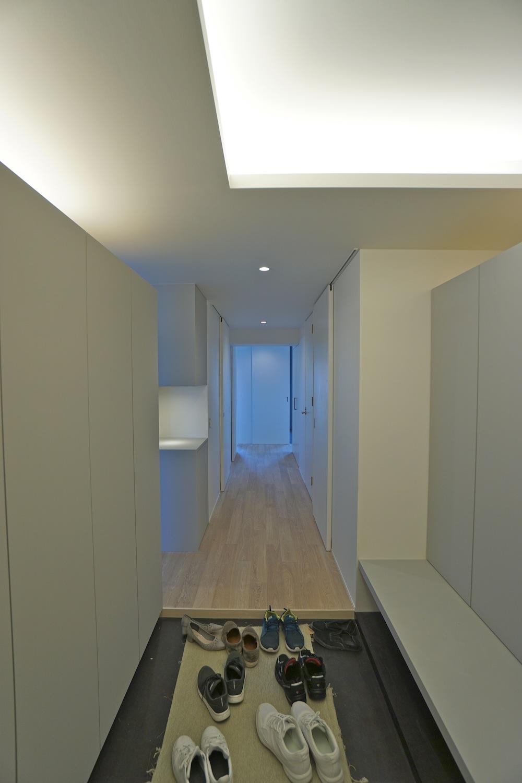 建築家,マンションリノベーション,高級注文住宅,住宅設計,豊中,大阪,眺望,,エントランス