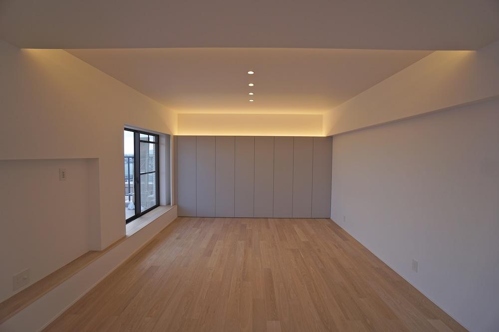 建築家,大阪,神戸,高級注文住宅,設計事務所,リゾート,間接照明,リビング,収納