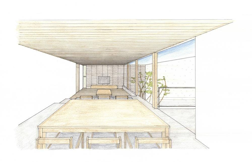 高級注文住宅設計,大阪,京都,神戸,コートハウス,中庭,テラスハウス,ラグジュアリー