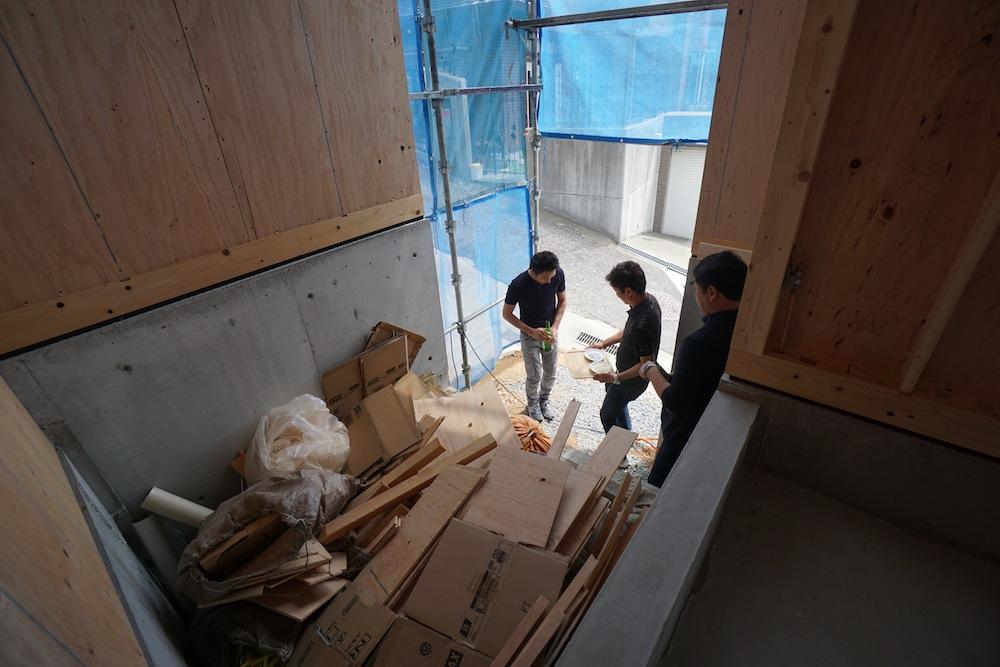 上棟式,宝塚,高級注文住宅設計,建築家,設計事務所,大阪,兵阪神,眺望の家