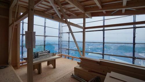 建築家,宝塚,大阪,京都,神戸,高級注文住宅設計,眺望の家,スカイリビング,眺めの良い家