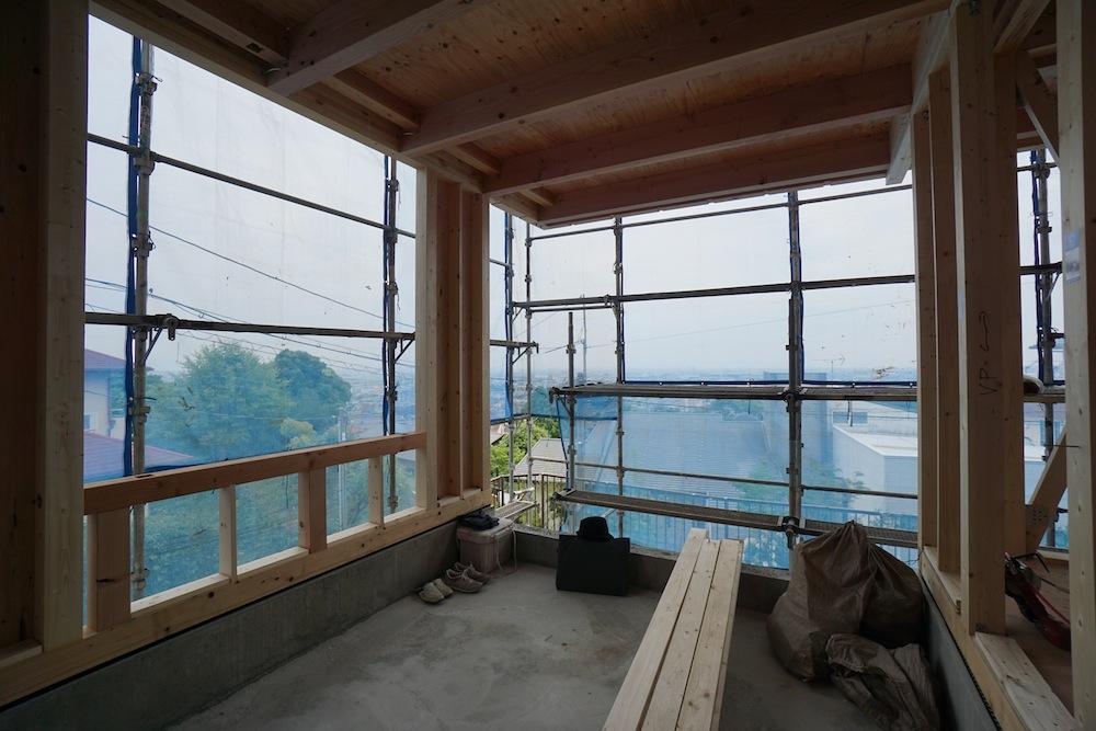 建築家,宝塚,大阪,京都,神戸,高級注文住宅設計,眺望の家,スカイリビング,
