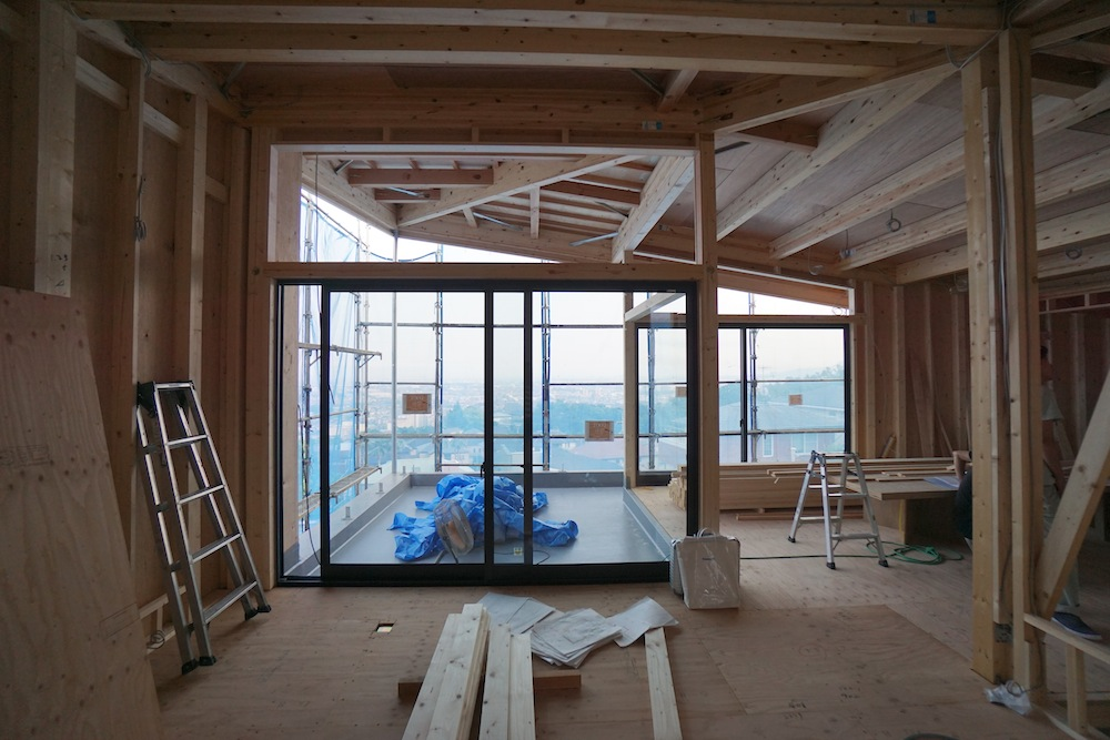 建築家,設計事務所,高級注文住宅設計,大阪,宝塚,眺望の家,おおきな窓