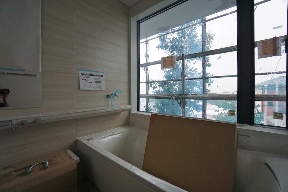 宝塚,眺望の家,建築家,設計事務所,雲雀丘,高級注文住宅設計,大阪,お風呂