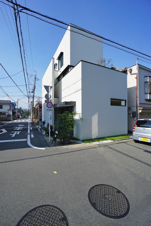 建築家,高級注文住宅設計,高槻,へアサロン併用住宅,大阪,神戸