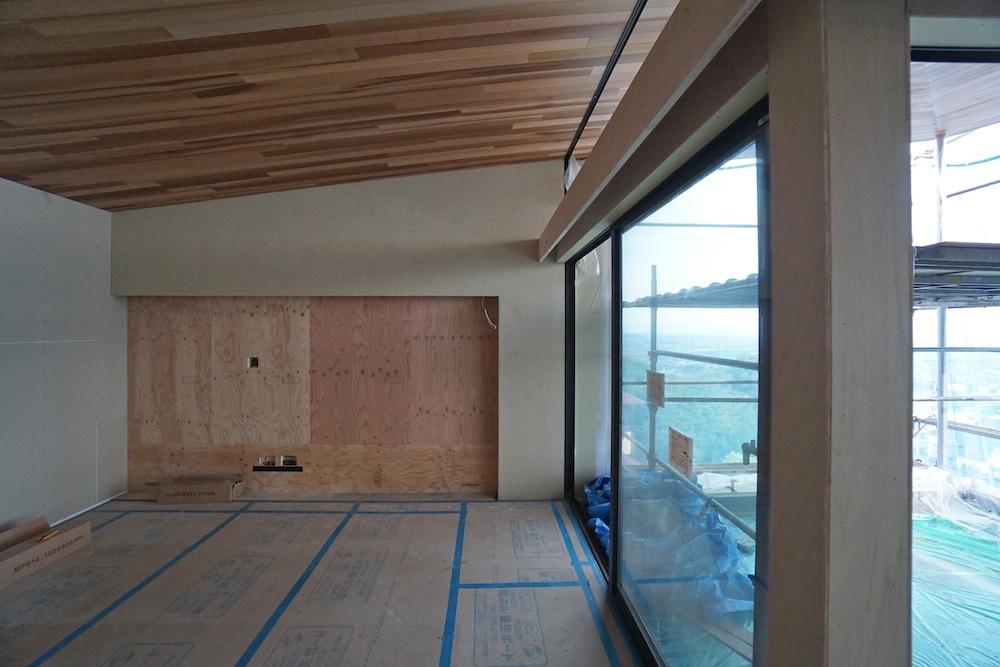 建築家,設計事務所,キッチン,クリナップ,眺望の家,スカイテラス,リビング