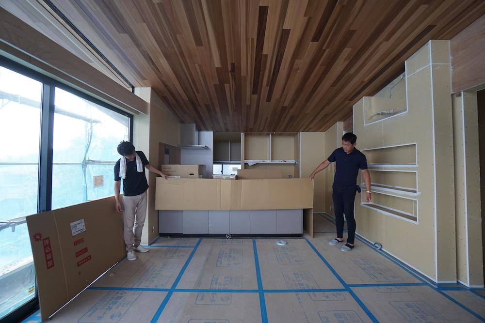 建築家,設計事務所,キッチン,クリナップ,眺望の家,スカイテラス,