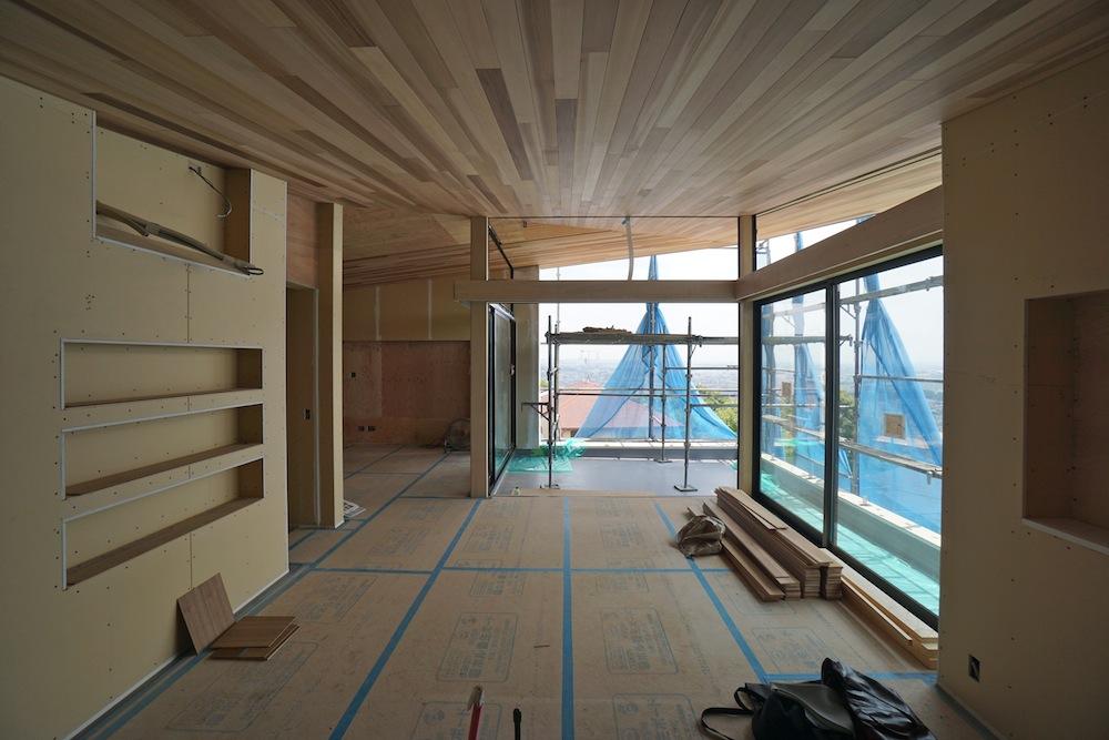 建築家,設計事務所,大阪,宝塚,高級注文住宅設計,眺望の家,雲雀丘,ビューテラス