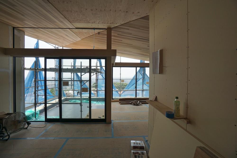 建築家,設計事務所,大阪,宝塚,高級注文住宅設計,眺望の家,雲雀丘,夜景