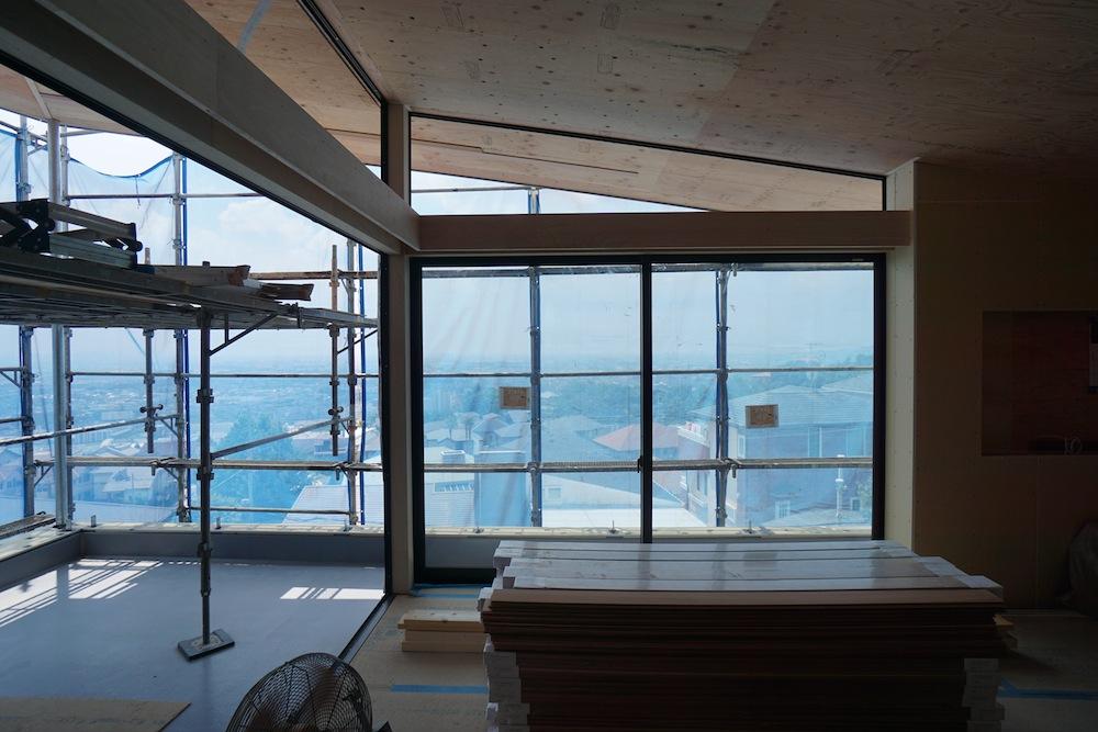 雲雀丘,建築家,眺望,眺めの良い家,宝塚市,設計事務所,家づくり,高級注文住宅設計,ビューテラス