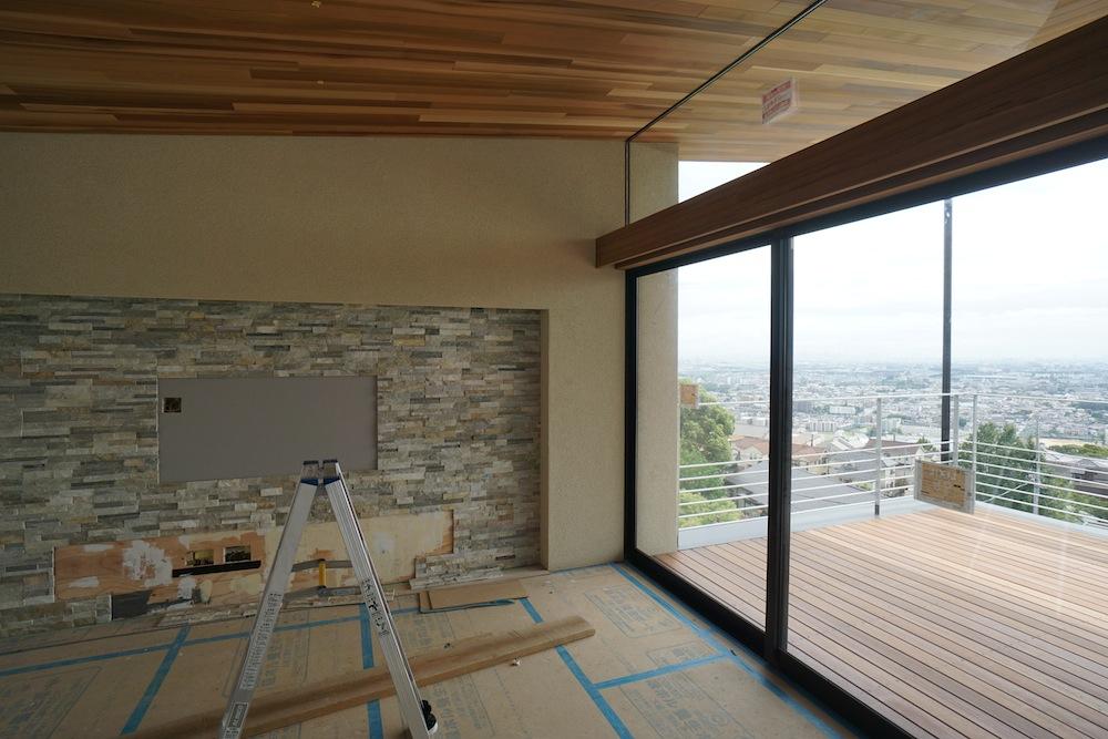 眺望のある家,眺望,眺めの良い家,建築家,大阪,神戸,高級注文住宅設計,テラス,おおきな窓