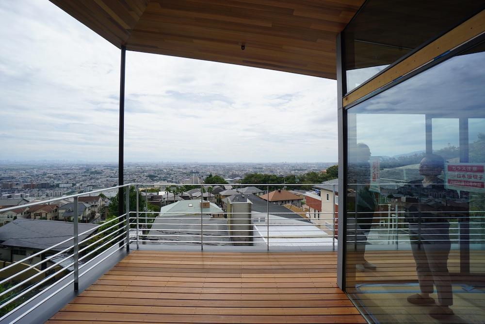 眺望のある家,眺望,眺めの良い家,建築家,大阪,神戸,高級注文住宅設計,テラス,グランピング