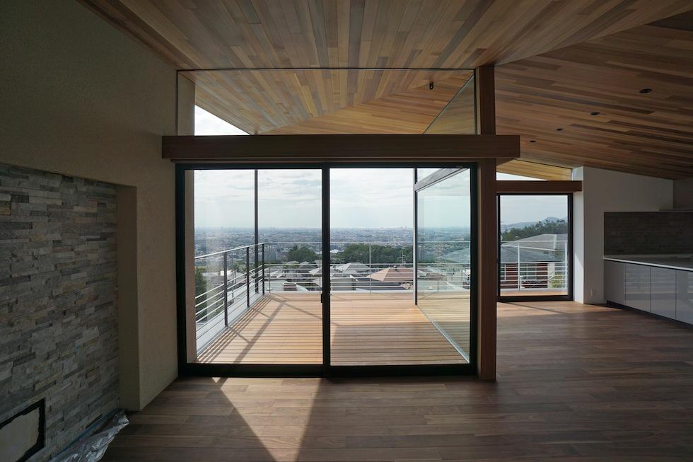 建築家,大阪,設計事務所,高級注文住宅設計,宝塚,眺望の家,グランピングテラス