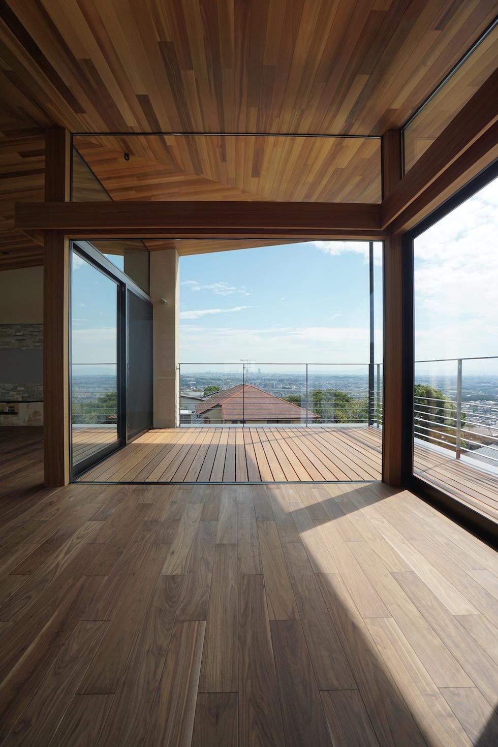 建築家,大阪,設計事務所,高級注文住宅設計,宝塚,眺望の家,大開口