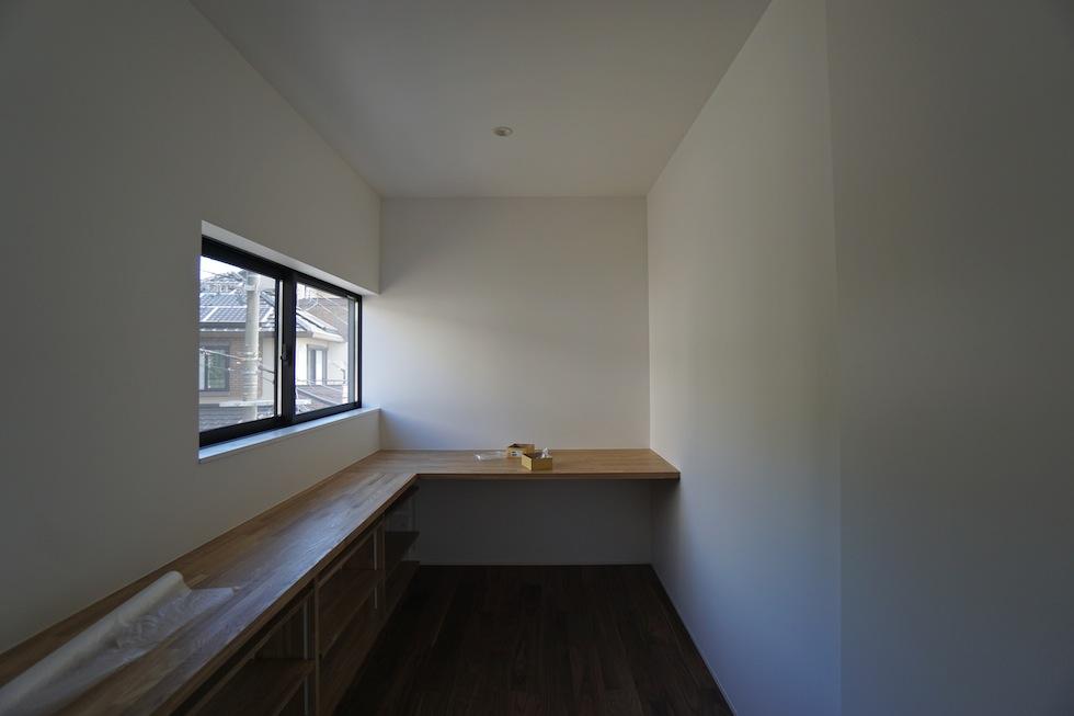 建築家,大阪,設計事務所,高級注文住宅設計,宝塚,眺望の家,書斎