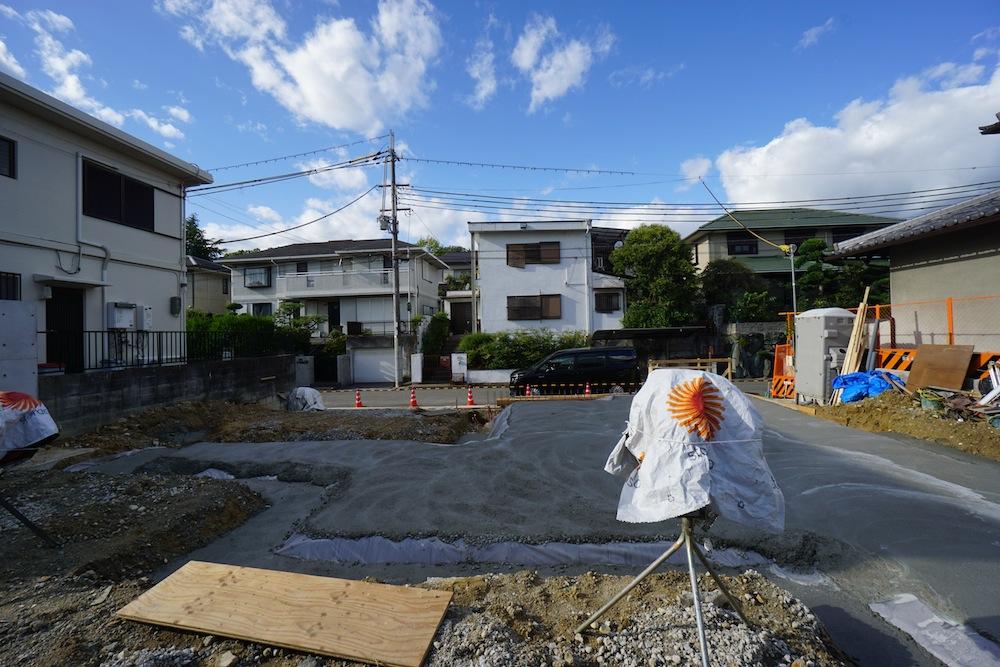 擁壁,コンクリート,吹田,豊中,建築家,大阪,神戸,高級注文住宅設計