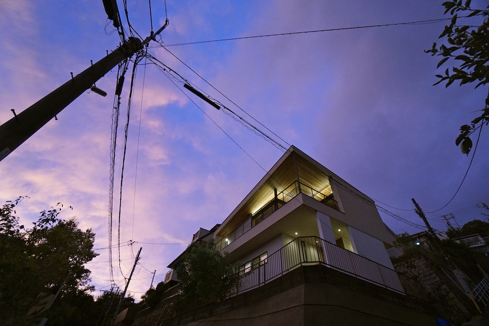 眺望の家,大阪,宝塚,ビュ−ハウス,建築家,高級注文住宅設計